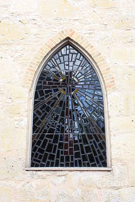 Photograph - The Little Church Window by Carol Groenen