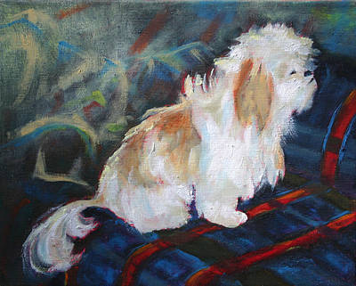 The Little Dog Prince Print by Carol Jo Smidt