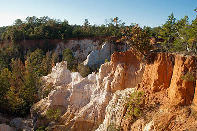Photograph - The Little Grand Canyon Called Providence Canyon Georgia by Charles Beeler