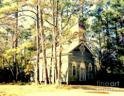 Photograph - The Little Green Church  by Michael Hoard