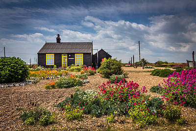 Art Print featuring the photograph The Little House. by Gary Gillette