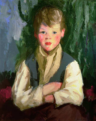 The Eight Painting - The Little Irishman, 1913 by Robert Cozad Henri