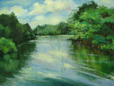 Painting - The Little Maumelle by Sharon Franke