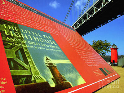 Politicians Royalty-Free and Rights-Managed Images - The Little Red Lighthouse and The Great Gray Bridge by Nishanth Gopinathan