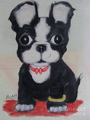 Painting - The Little Ring Bearer by Rachel Carmichael