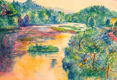 Painting - The Little River Again by Kendall Kessler