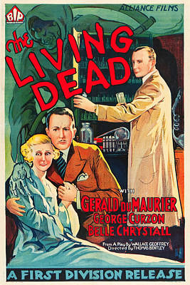 The Living Dead Art Print by MMG Archives