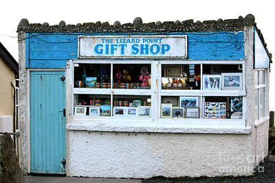 Photograph - The Lizard Point Gift Shop  by Terri Waters