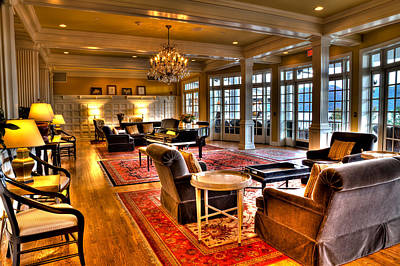 Photograph - The Lobby At The Sagamore Resort by David Patterson