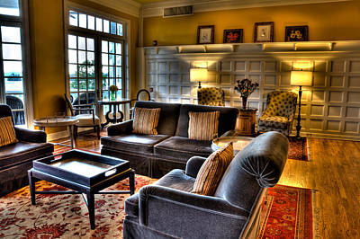 Photograph - The Lobby In The Sagamore by David Patterson