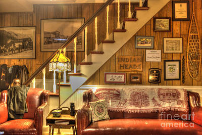 Staircase Photograph - The Lobby by Juli Scalzi