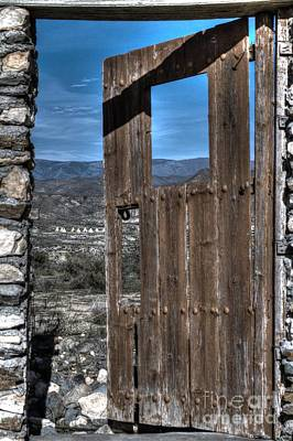 Taberna Photograph - The Lockless Door by Heiko Koehrer-Wagner