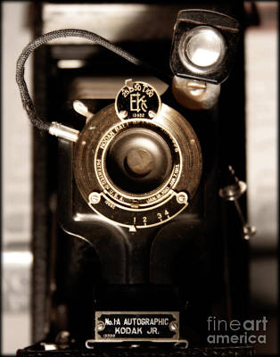 Vintage Cameras Photograph - The Locomotive  by Steven Digman