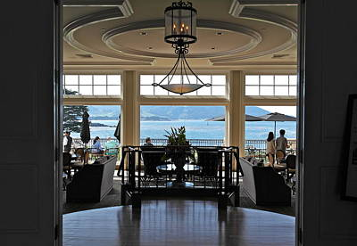 Photograph - The Lodge At Pebble Beach by Michele Myers