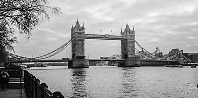 The London Bridge  Art Print by Steven  Taylor