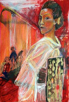 Dance Mixed Media - The London Dance Recital by Julie Galante