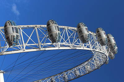 Photograph - The London Eye by Paula Guy
