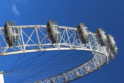 Photograph - The London Eye by Paula Guy