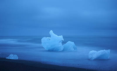 Photograph - The Lonely Ice by Alexey Druzhinin