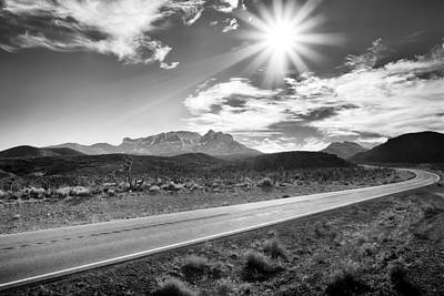 Photograph - The Lonely Road by Howard Salmon