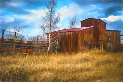 The Lonesome Place - Artistic Art Print by Chris Bordeleau