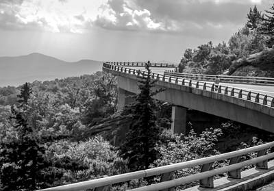 Smokey Mountain Drive Photograph - The Long And Winding Road by Karen Wiles