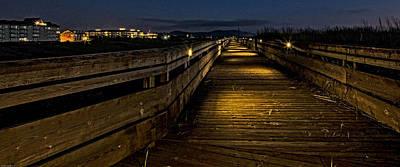 Photograph - The Long Boardwalk by Thom Zehrfeld