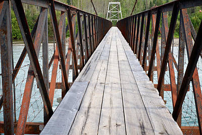 Photograph - The Long Bridge by Mary Lee Dereske