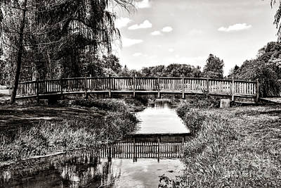 Photograph - The Long Footbridge by Olivier Le Queinec