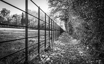 Photograph - The Long Footpath by Gary Gillette