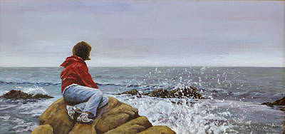 Painting - The Long Goodbye by Don Perino