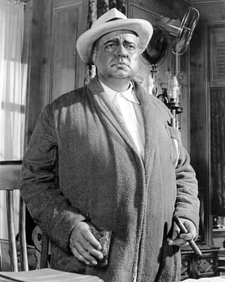 Bathrobe Photograph - The Long, Hot Summer, Orson Welles by Everett