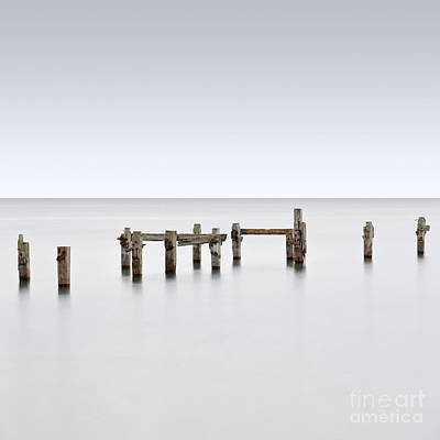 Swanage Pier Photograph - The Long Old Pier by Richard Thomas