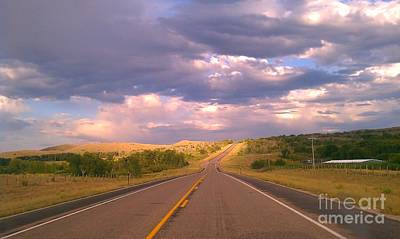 Art Print featuring the photograph The Long Road Home by Chris Tarpening