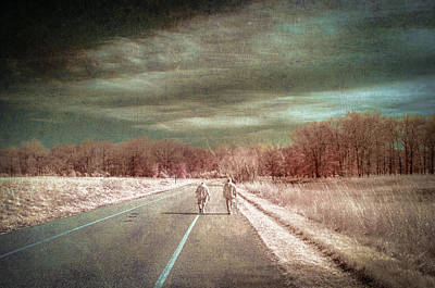 Photograph - The Long Road by Jay Swisher