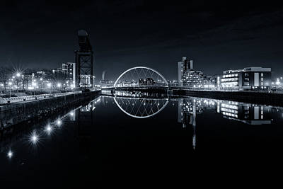 Photograph - The Long View Down The Clyde by Stephen Taylor