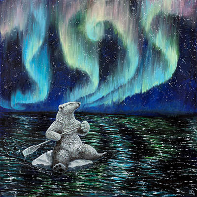 Painting - The Longest Night by Beth Davies