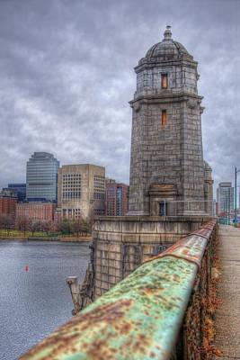 Massachussetts Photograph - The Longfellow Bridge - Boston by Joann Vitali