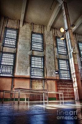 Alcatraz Photograph - The Lonley Library by Andrew Brooks
