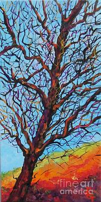 Painting - The Looking Tree by Deborah Glasgow