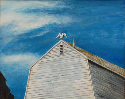 Painting - The Lookout by Michael Anthony Edwards