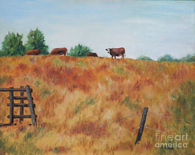 Painting - The Lookout by William Reed