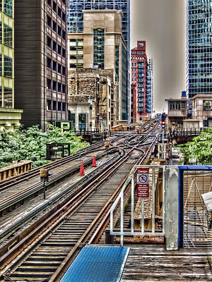 Photograph - The Loop by Harry B Brown