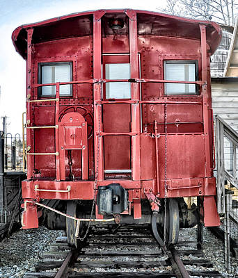 The Loose Caboose Art Print