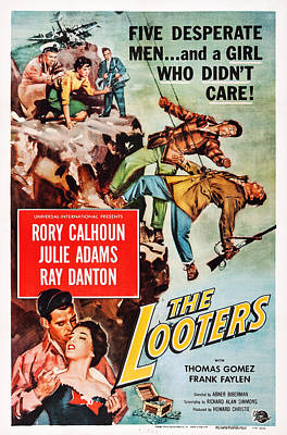 The Looters, Us Poster Art, Bottom Left Art Print by Everett