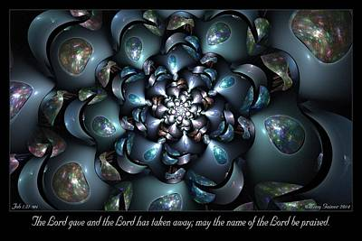 Digital Art - The Lord Gave by Missy Gainer