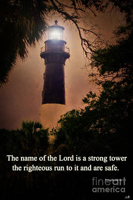 Photograph - The Lord Is A Strong Tower by Sandra Clark