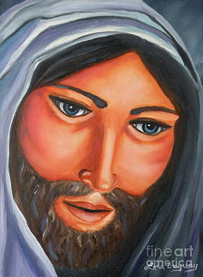 Painting - The Lord Is My Shepherd by Lora Duguay