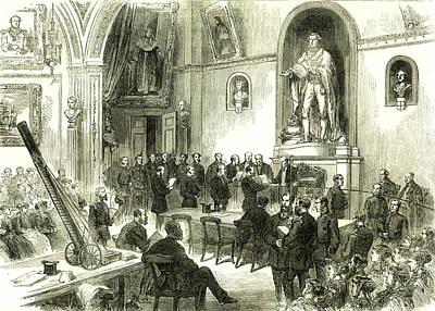 The Lord Mayor At Guildhall London U.k. 1867 Art Print by English School