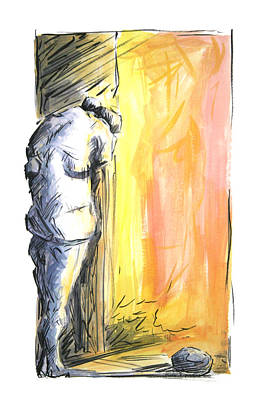 The Loss 2010 Art Print by Thomas Griffith